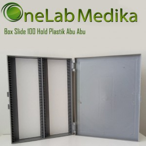 Box Slide 100 Hold Plastik Abu Abu