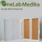Box Slide 100 Hold Plastik Putih