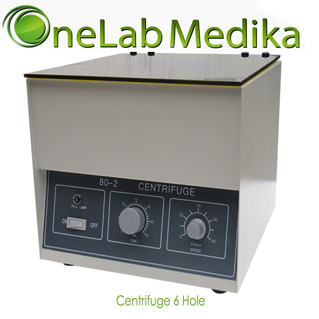 Centrifuge Manual 6 Hole x 15ml