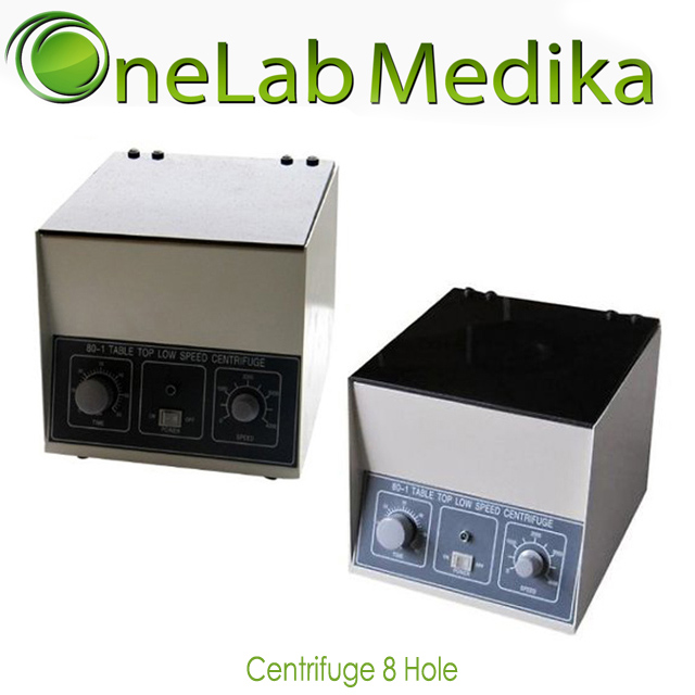Centrifuge Manual 8 Hole x 15ml
