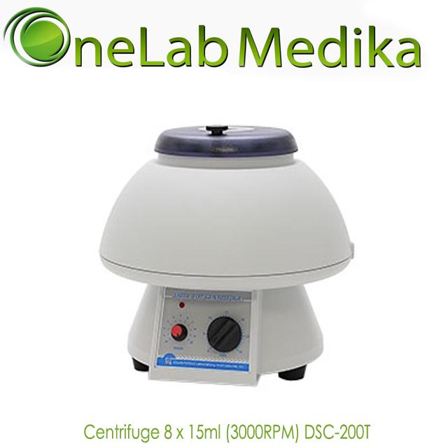 Centrifuge 8 x 15ml (3000RPM) DSC-200T