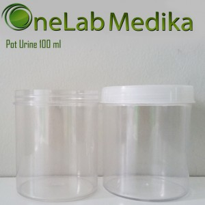 Pot Urine 100 ml Non Sterile