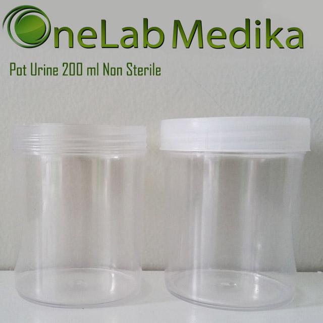 Pot Urine 200 ml Non Sterile