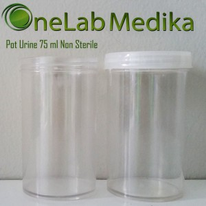 Pot Urine 75 ml Non Sterile
