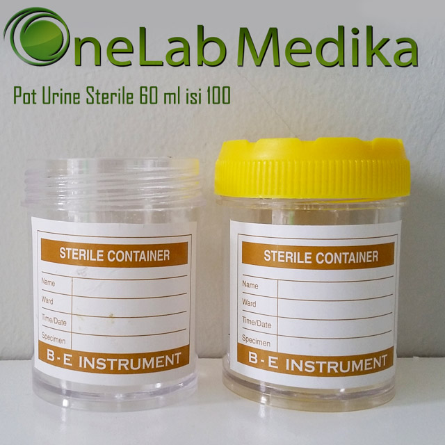 Pot Urine Sterile 60 ml isi 100