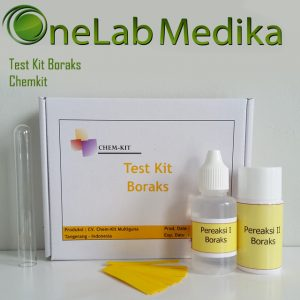 Test Kit Boraks Chemkit