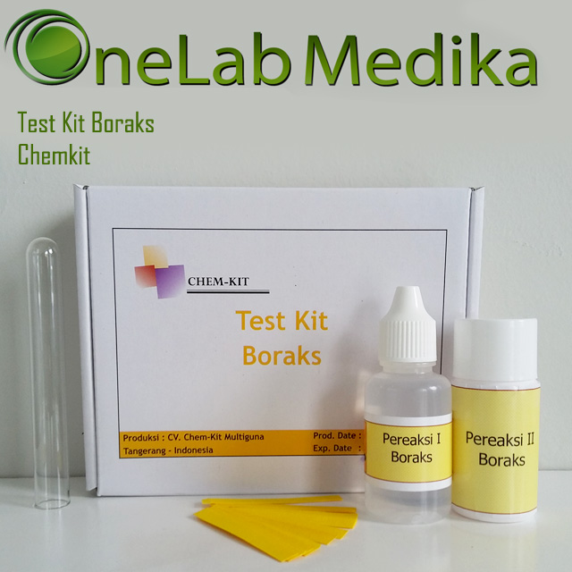 Test Kit Boraks Chemkit
