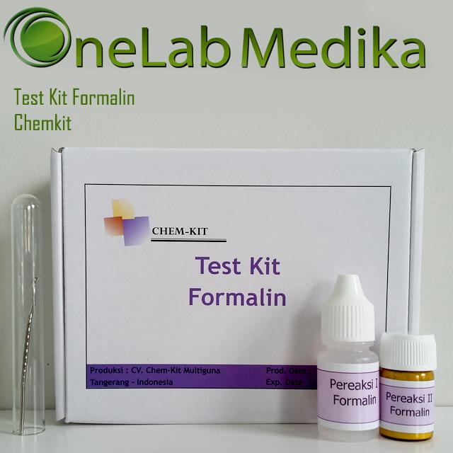 Jual Test Kit Formalin Chemkit murah, akurat, terjangkau