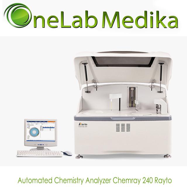 Automated Chemistry Analyzer Chemray 240 Rayto
