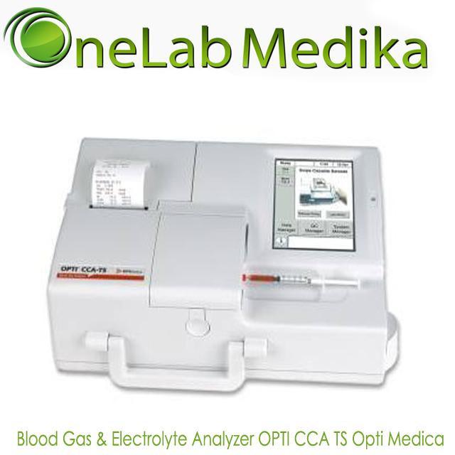 Blood Gas & Electrolyte Analyzer OPTI CCA TS USA Opti Medica