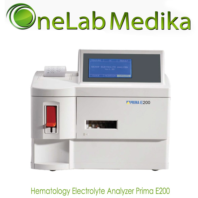 Hematology Electrolyte Analyzer Prima E200