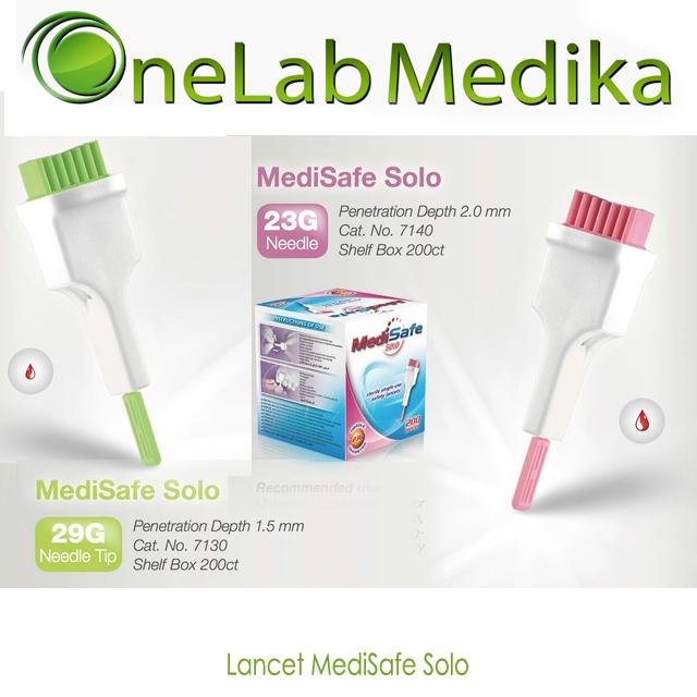 Lancet MediSafe Solo