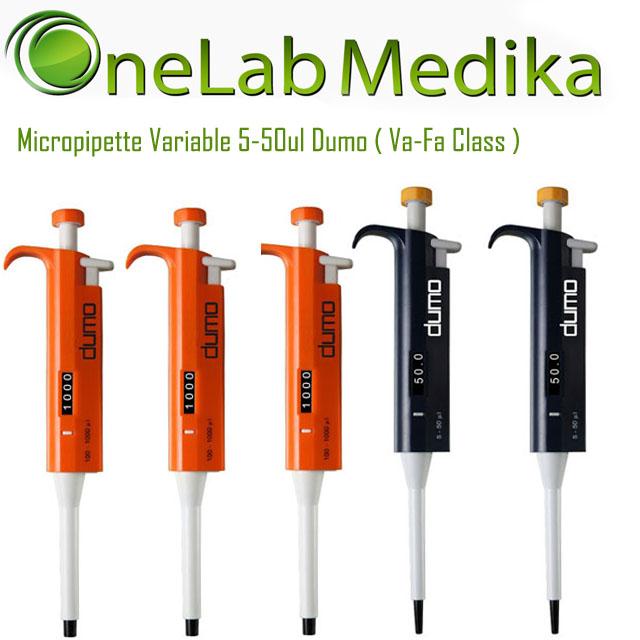 Micropipette Variable 5-50ul Dumo ( Va-Fa Class )