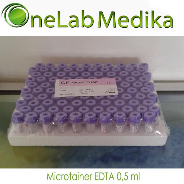 Microtainer EDTA 0,5 ml