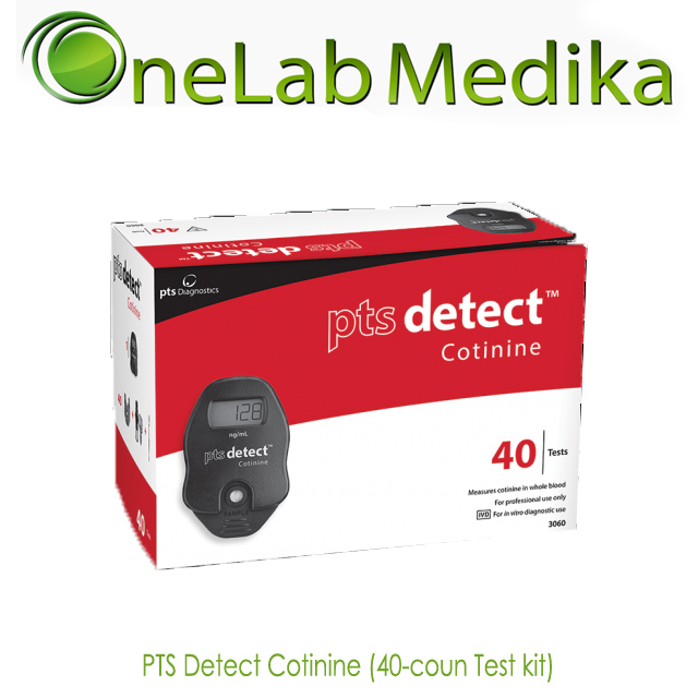 PTS Detect Cotinine (40-coun Test kit)