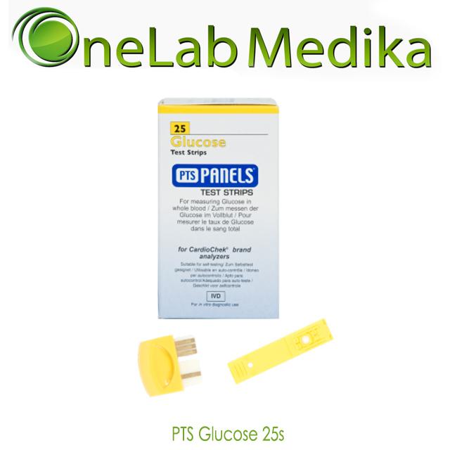 PTS Glucose 25s