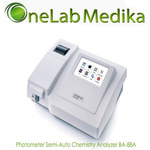 Photometer BA-88A Semi-Auto Chemistry Analyzer