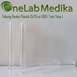Tabung Reaksi Plastik 12×75