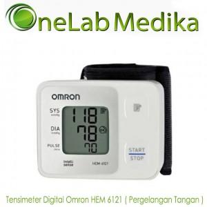 Tensimeter Digital Omron HEM 6121 (Pergelangan Tangan)