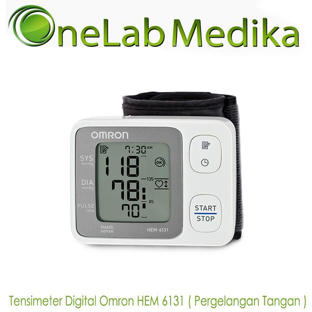 Tensimeter Digital Omron HEM 6131 ( Pergelangan Tangan )
