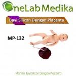 Manikin Bayi Silicon Dengan Placenta