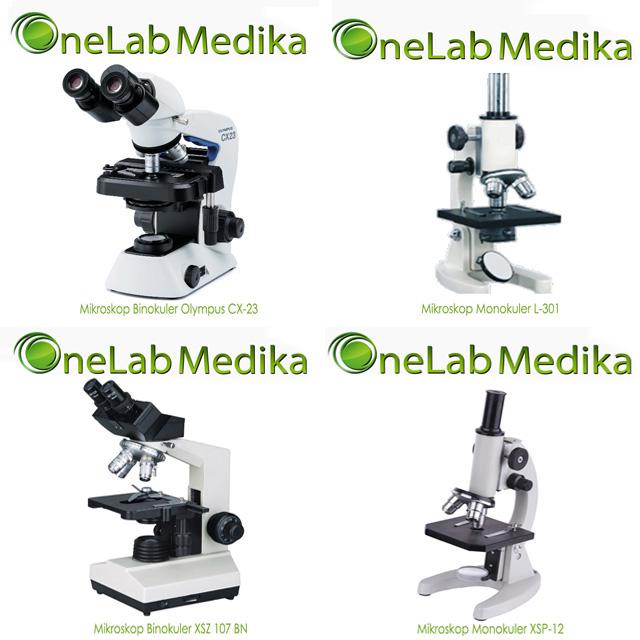 Mikroskop Olympus Binokuler, Monokuler