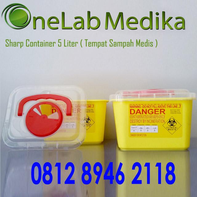 Sharp Container 5 Liter ( Tempat Sampah Medis )nope