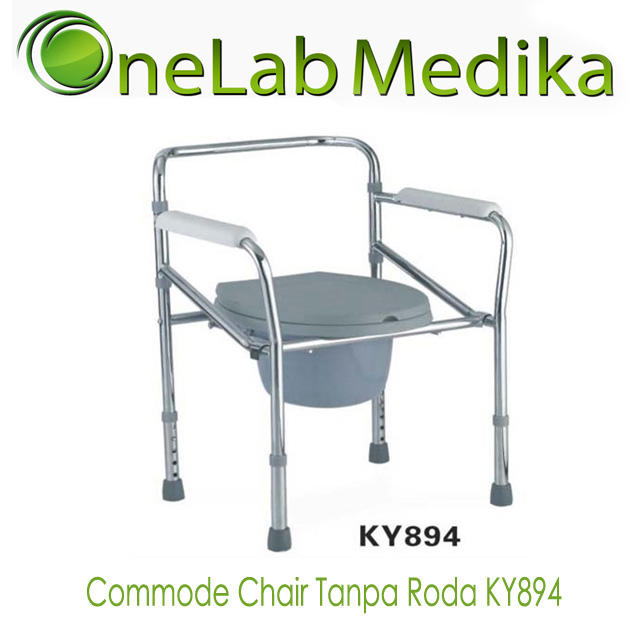 Commode Chair Tanpa Roda KY894