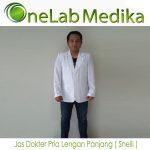 Jas Dokter Pria Lengan Panjang ( Snelli )