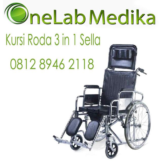 Kursi Roda 3 in 1 Sella 081289462188