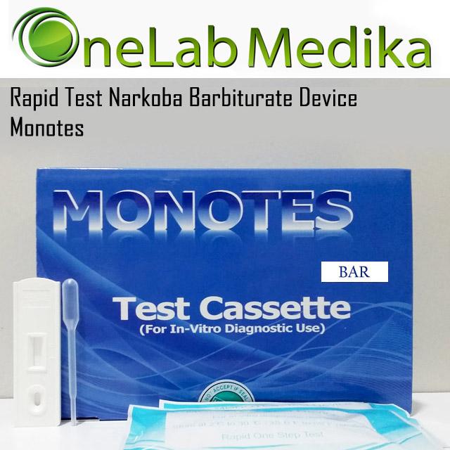 Rapid Test Narkoba Barbiturate Device Monotes