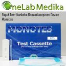 Rapid Test Narkoba Benzodiazepines Device Monotes