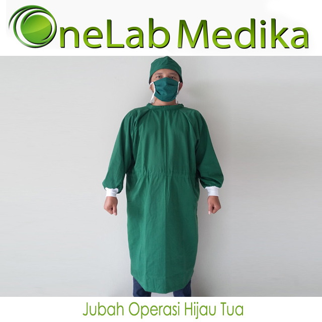 Jubah Operasi Hijau Tua