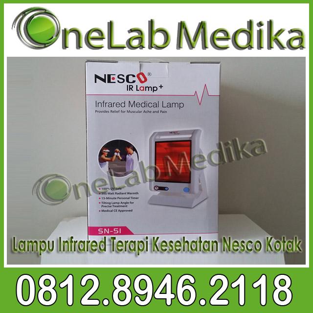 Lampu Infrared Terapi Kesehatan Nesco Kotak