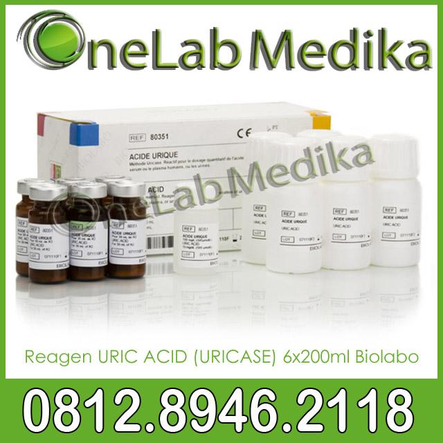 Reagen URIC ACID (URICASE) 6x200ml Biolabo