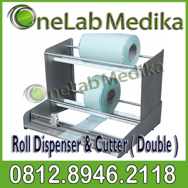 Roll Dispenser & Cutter ( Double )
