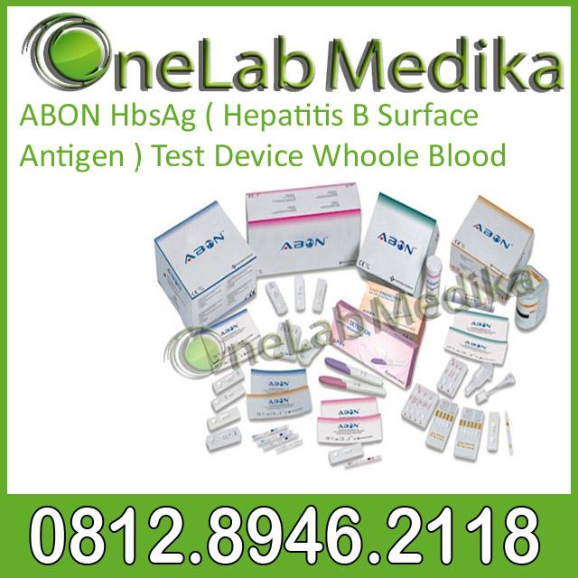 ABON HCV ( Hepatitis C Virus ) Test Device Whoole Blood
