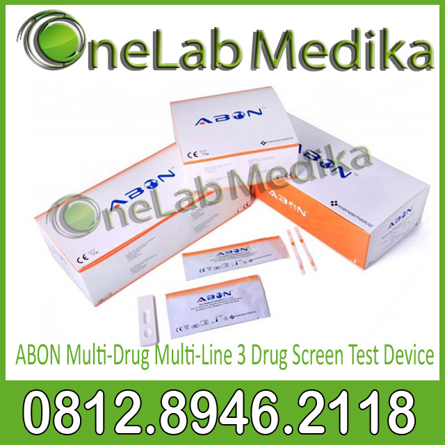 ABON Multi-Drug Multi-Line 3 Drug Screen Test Device