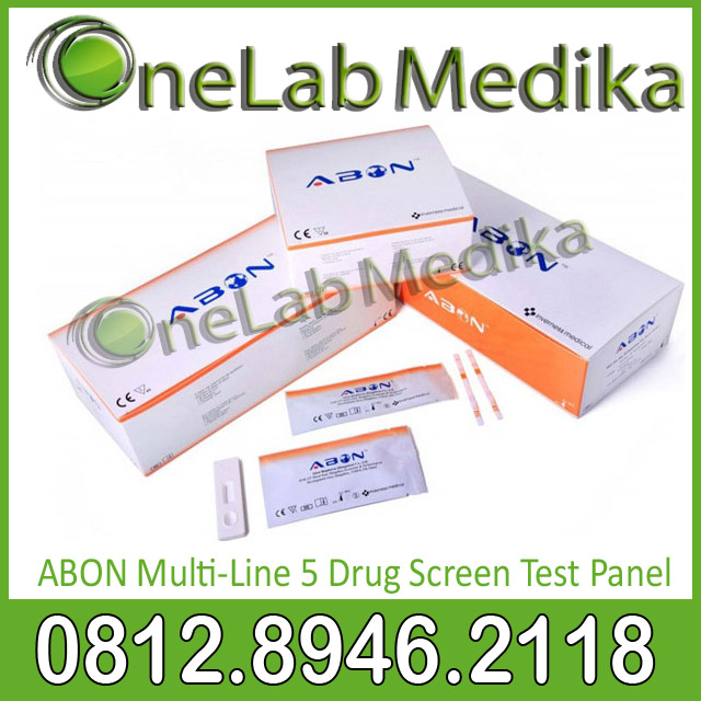 ABON Multi-Line 5 Drug Screen Test Panel
