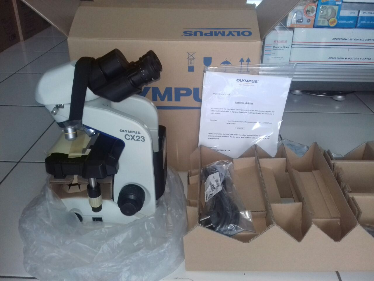 Olympus CX23 Mikroskop Binokuler