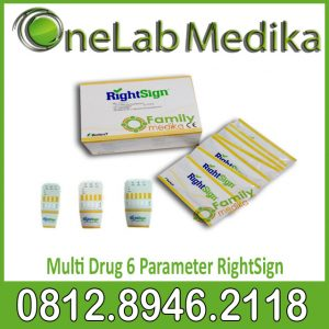 Rapid Test Multi Drug 6 Parameter RightSign