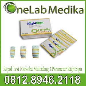 Rapid Test Narkoba Multidrug 3 Parameter RightSign