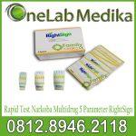 Rapid Test Narkoba Multidrug 5 Parameter RightSign