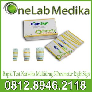 Rapid Test Narkoba Multidrug 5 Parameter RightSign