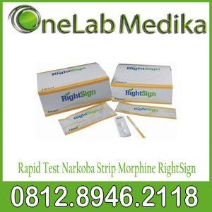 Rapid Test Narkoba Strip Morphine RightSign