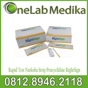 Rapid Test Narkoba Strip Pencyclidine RightSign