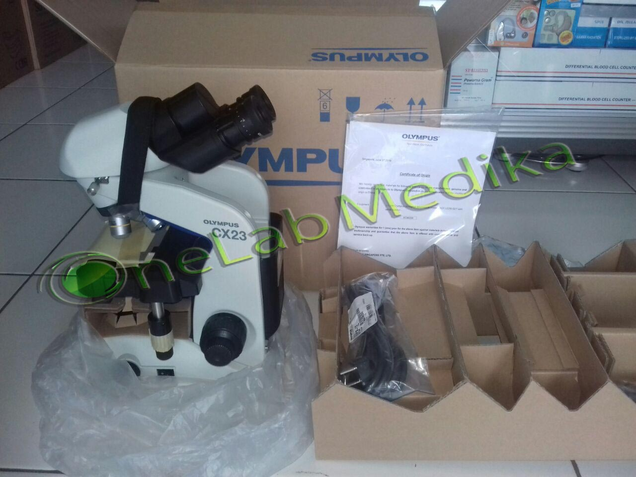 Harga Mikroskop Binokuler Olympus CX 23