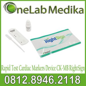 Rapid Test Cardiac Marker Device CK-MB RightSign