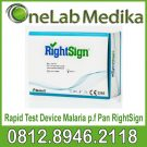 Rapid Test Narkoba Device Malaria p.f Pan RightSign
