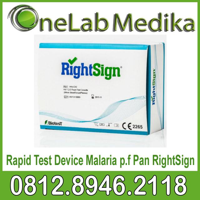 Rapid Test Device Malaria p